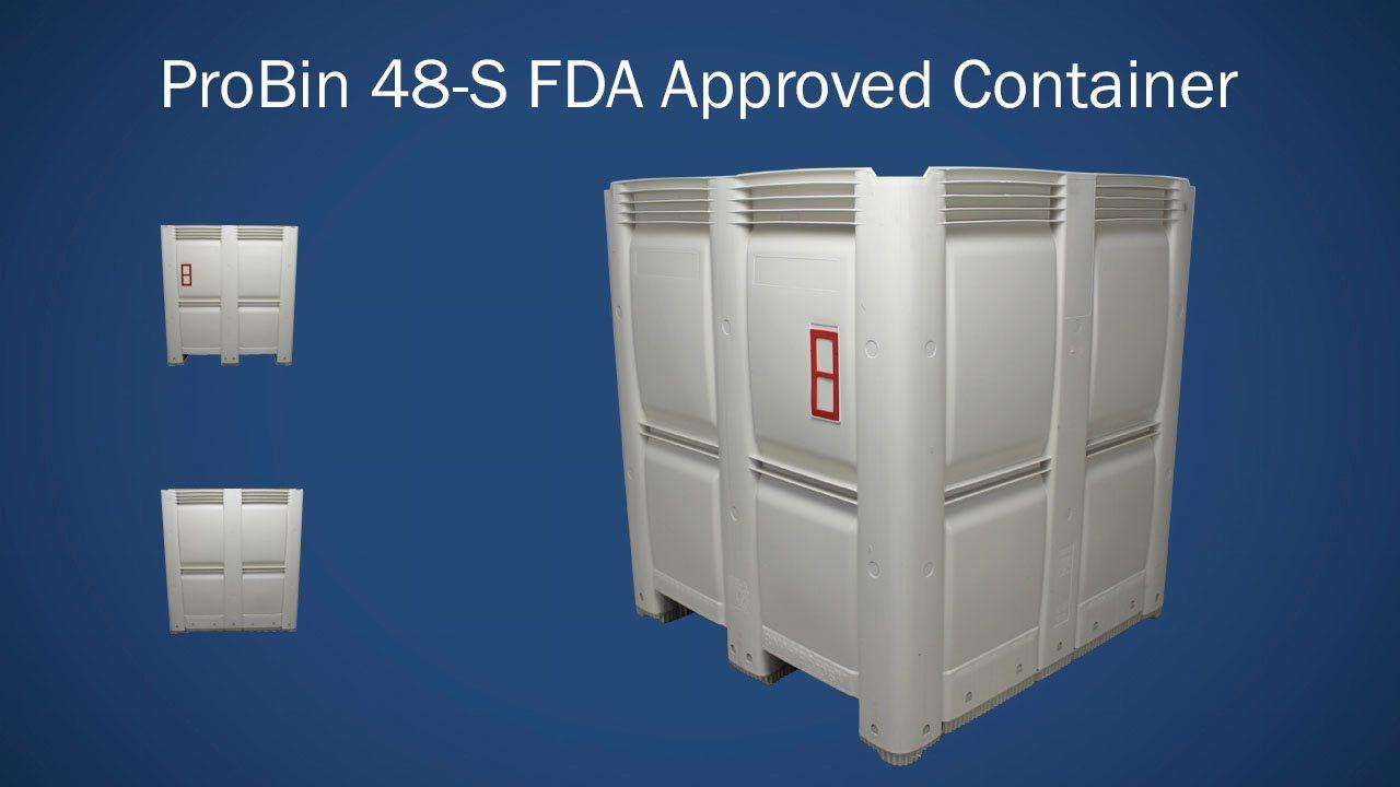 Macro M484853S 48S ProBin plastic bulk bins are used
