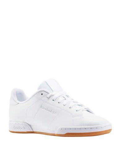 88cc5881176bf REEBOK REEBOK NPC II TG Leather Sneakers.  reebok  shoes  sneakers ...