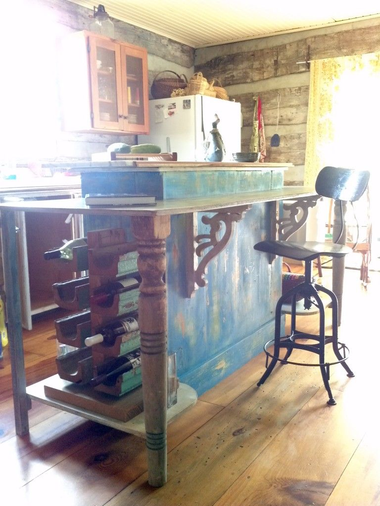 cool kitchen island....Country French inspired kitchen island ... on diy country paint, diy country banner, diy country home decor, diy country kitchen designs,