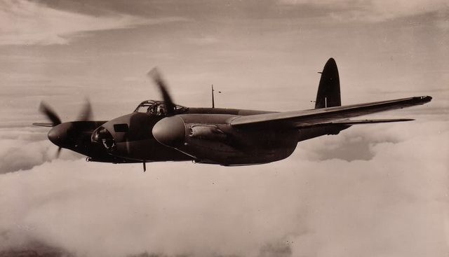 de Havilland DH.98 Mosquito, via Flickr.