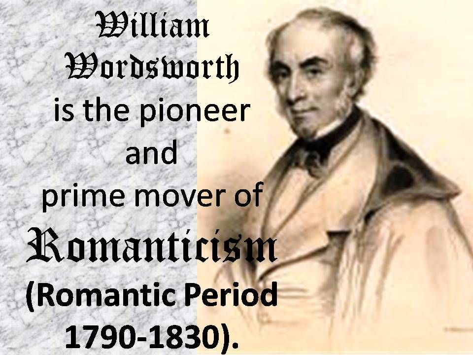 essay on william wordsworth Choose 3 poems by william wordsworth essay elements of romanticism in wordsworth's poem essay compare and contrast the poem meeting at night by robert browning with resolution and independence by william wordsworth essay.