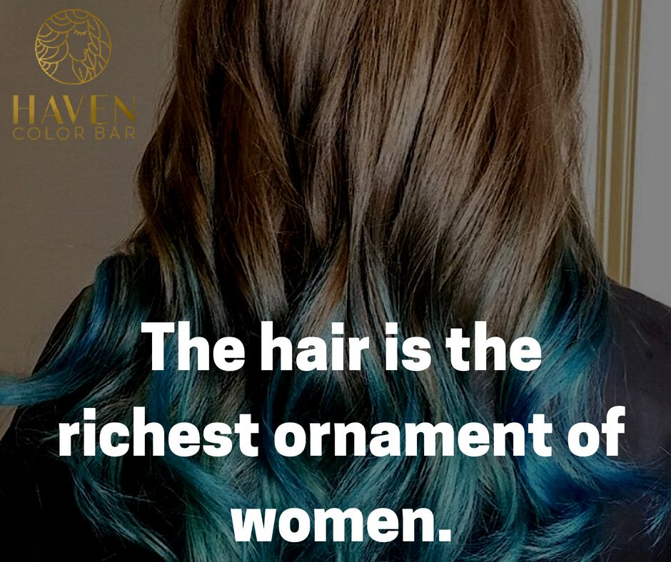 Stylist And Glossy Hair Is All One Desires For Haven Color Bar Is Rendering Services For Haircuts And Coloring Best Hair Salon Glossy Hair Island Wedding Hair