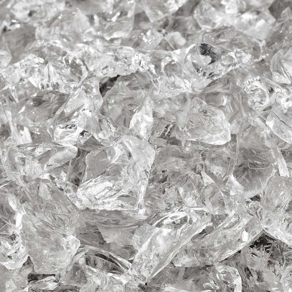Photo of Fire Pit Essentials 10 lbs. of Arctic Ice 3/8 in. to 1/2 in. Crushed Fire Glass-A9-MBNF-5ULQ – The Home Depot
