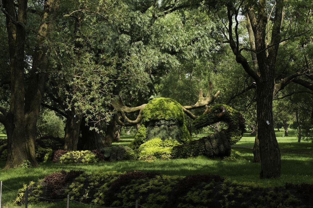 Mosaicultures Internationales Montréal....(gartenbau-) Kunst Kommt ... Lebendige Skulpturen Im Garten Atlanta