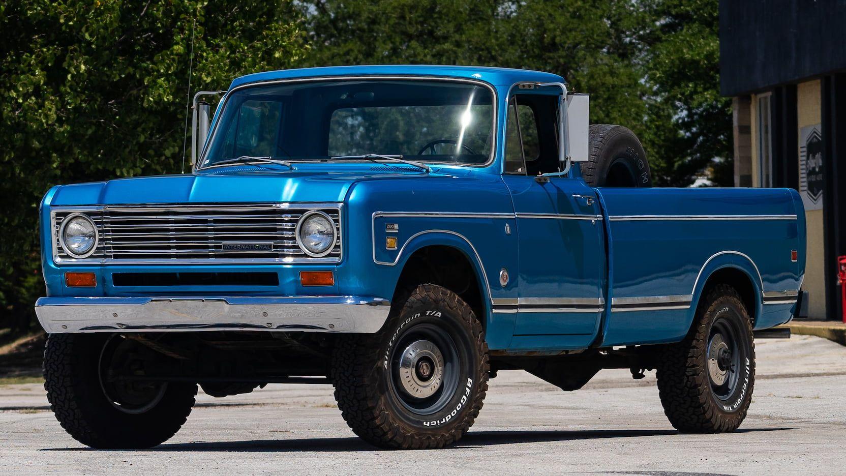 1974 International 200 Pickup F16 Dallas 2018 in 2020