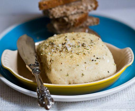 Vegan Cashew Cheese. Herb Crust. Velvet Center.
