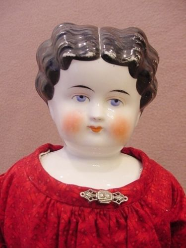 17-old-antique-pink-luster-cheeks-German-china-head-cloth-lady-doll