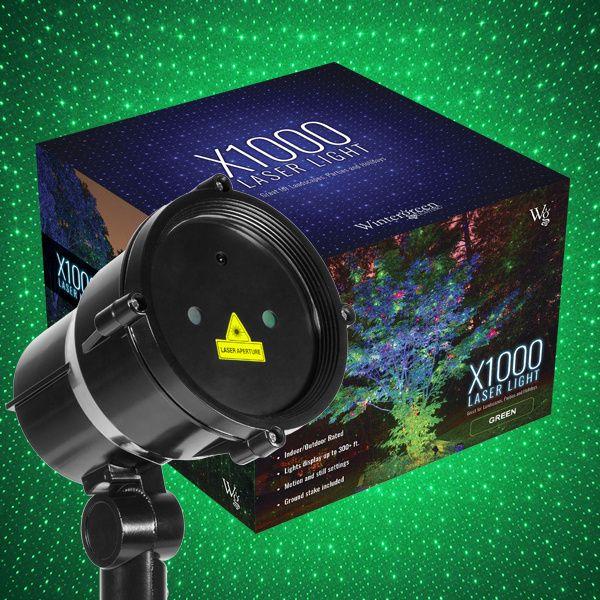 Green X1000 Laser Christmas Light Projector Brody Pinterest