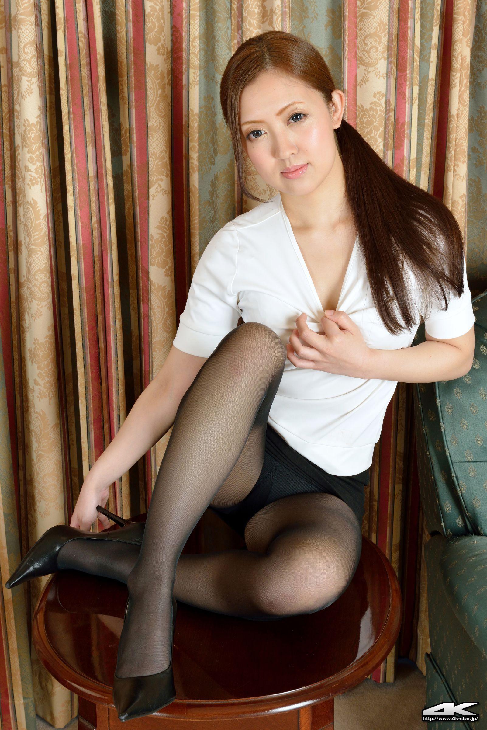 [4K-STAR写真] No.00330 藍澤瑠璃 Office Lady 套图 日本美女 少妇 OL 制服 长腿 ...