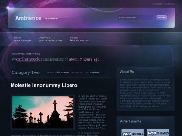 Woothemes Ambience | Wordpress WooThemes | Pinterest | Wordpress