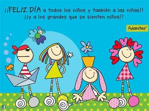 30 De Abril Fulanitos Ilustraciones Educativas Dia Del Nino