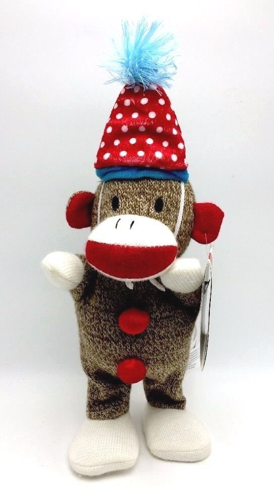 Sock Monkey Singing Birthday Dancing Hot Stepper New #Walmart