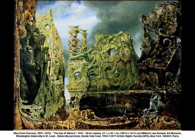 The Eye of Silence by Max Ernst Painting
