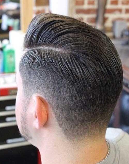 Mens Fade Hairstyles Back View Men Haircuts Hair Cuts Hair