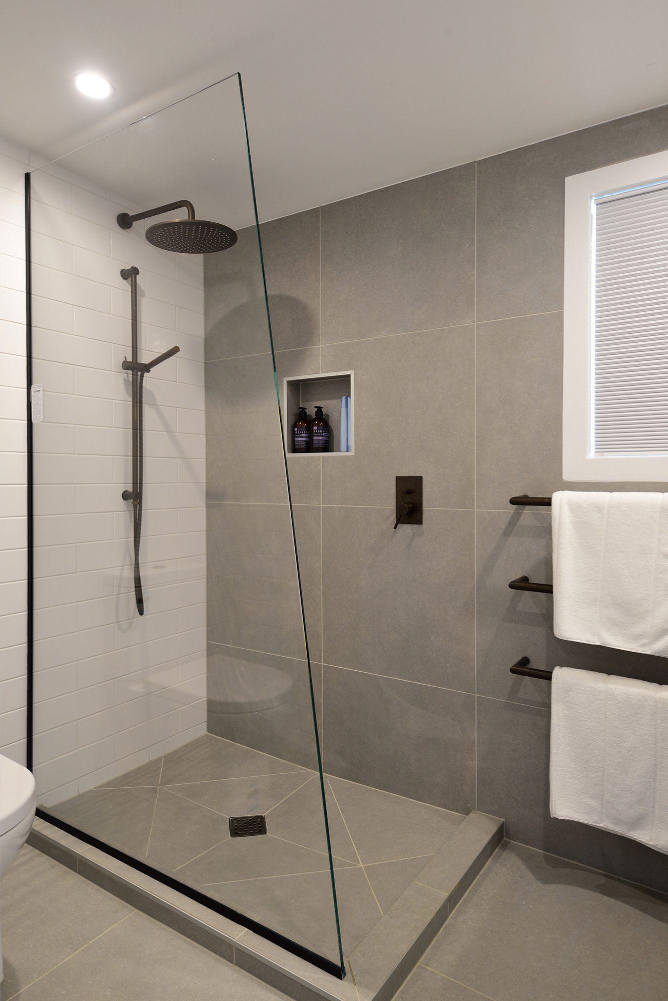 The Block Nz 2016 Bathroom And Kitchen Tiles In 2020 Bathroom Shower Walls Minimalist Small Bathrooms Bathroom Design Small