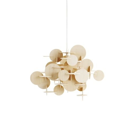 Normann Bau Pendel Natur Large Lampe Design Lamper Pendel