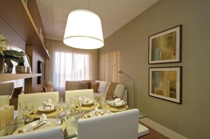Pin de let cia tawany em arq e urb apartamentos - Decorar apartamento pequeno ...