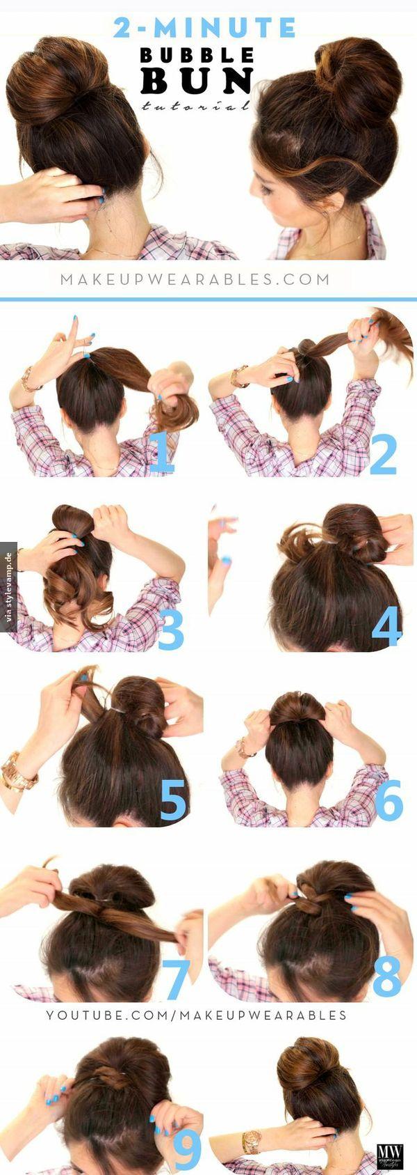 Stylevamp Fashion Beauty Trends Haarfrisuren Frisur Hochgesteckt Frisuren