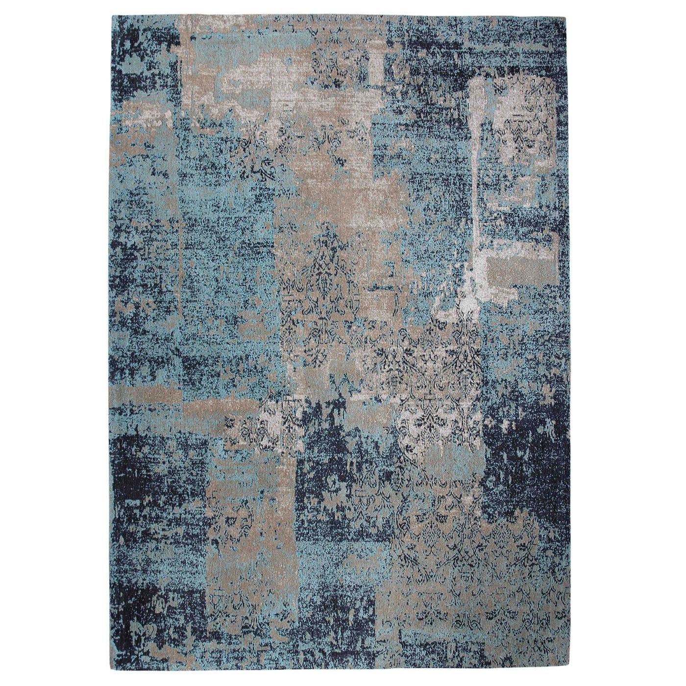 Green Decore Harmony Rug In Sky Blue And Grey Next Day Delivery Green Decore Harmony Rug In Sky Blue And Grey From Wor Blue Area Rugs Area Rugs Blue Grey Rug