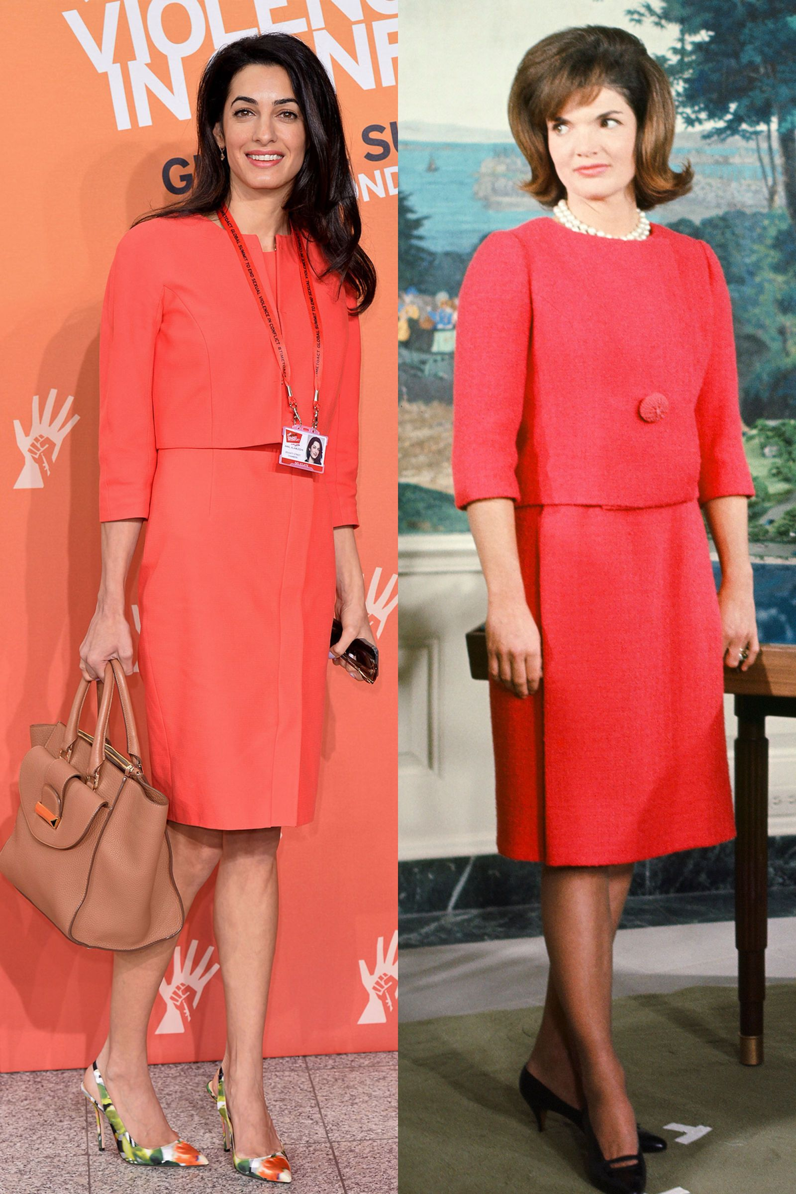 14 Times Amal Clooney Channeled Jackie Kennedy's Style