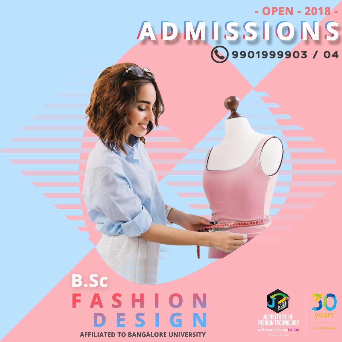 Be The Designer Of Your Dreams Get A B Sc In Fashion Design At Jd Institute Of Fashion Technology To Fashion Communication Technology Fashion Fashion Design
