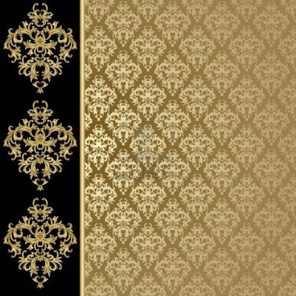 Stock Vector Gold background, Golden background