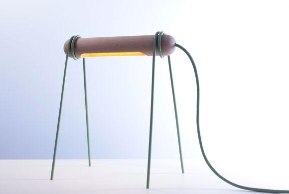 123 Lamp By Federico Floriani Gessato Lamp Wooden Lamp Saving Light
