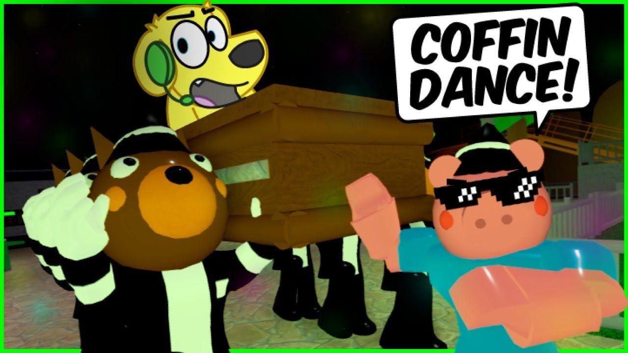 Piggy Coffin Dance More Dares Roblox Piggy Funny Moments 6 Funny Moments Piggy Roblox