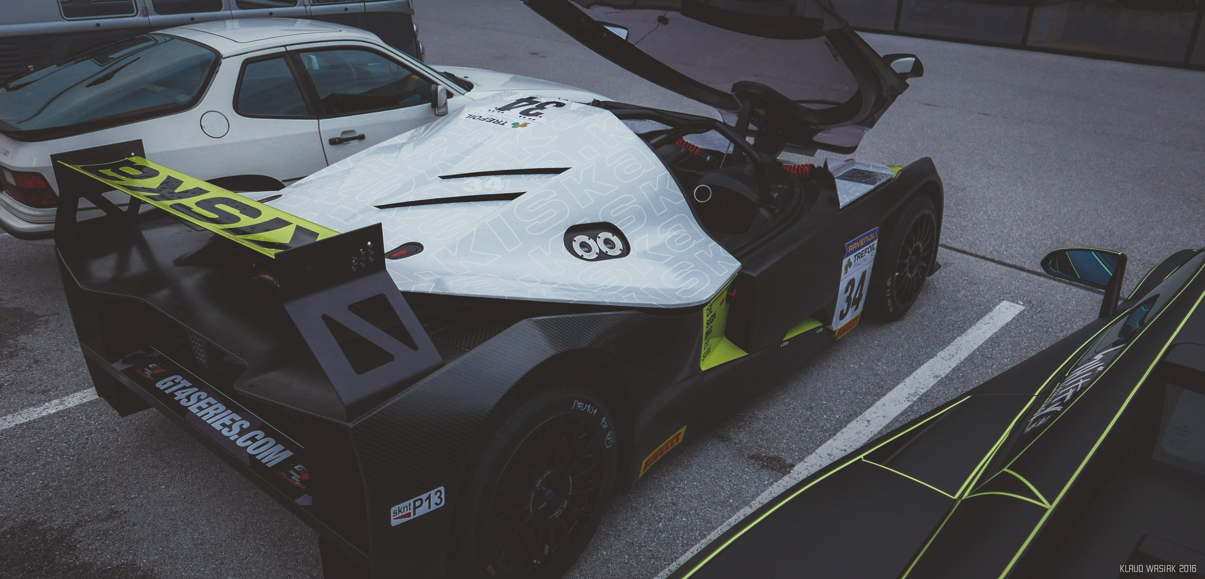 The KTM X Bow GT4 was designed to race and here it is sitting pretty