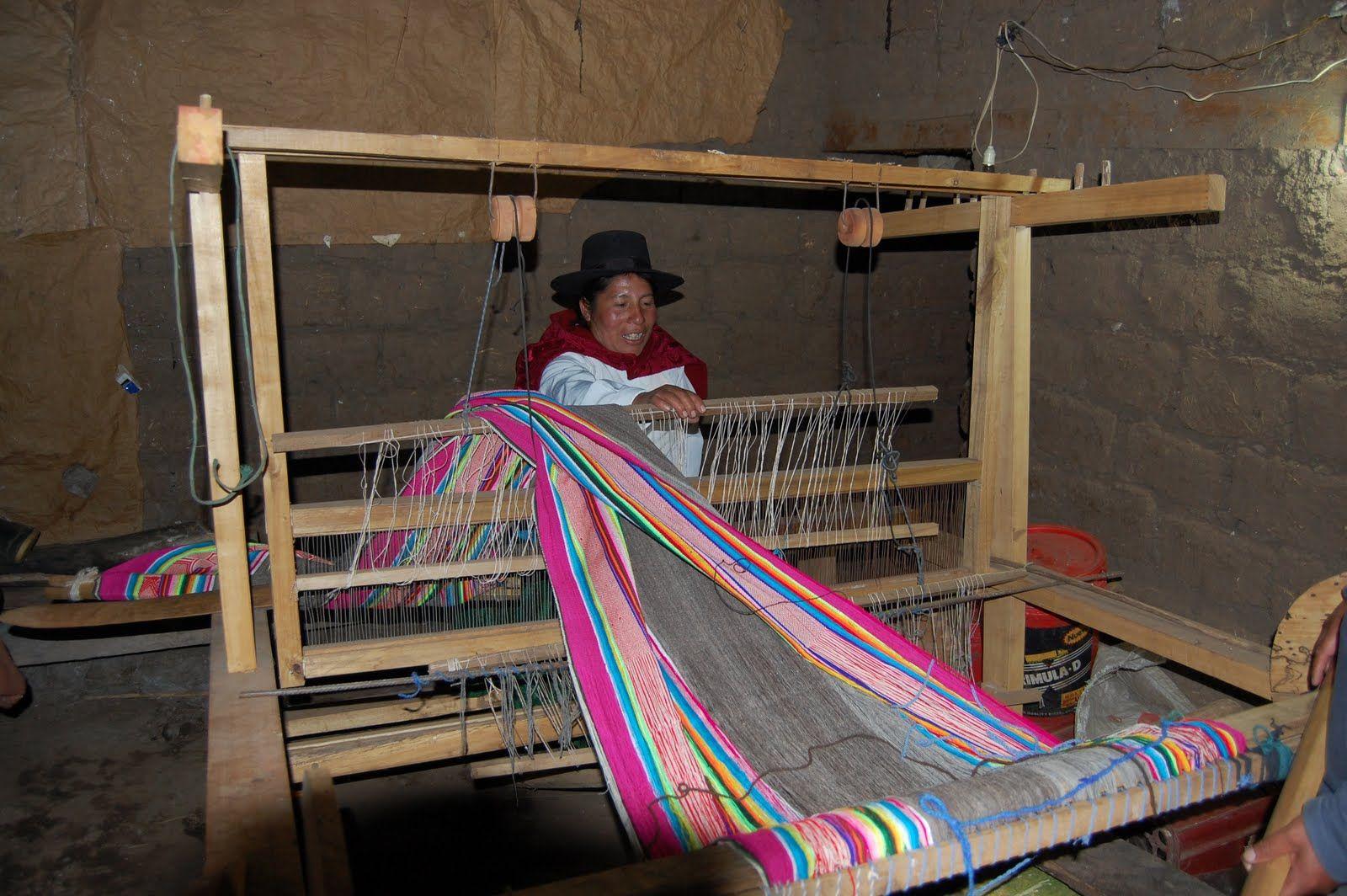 A loom worker