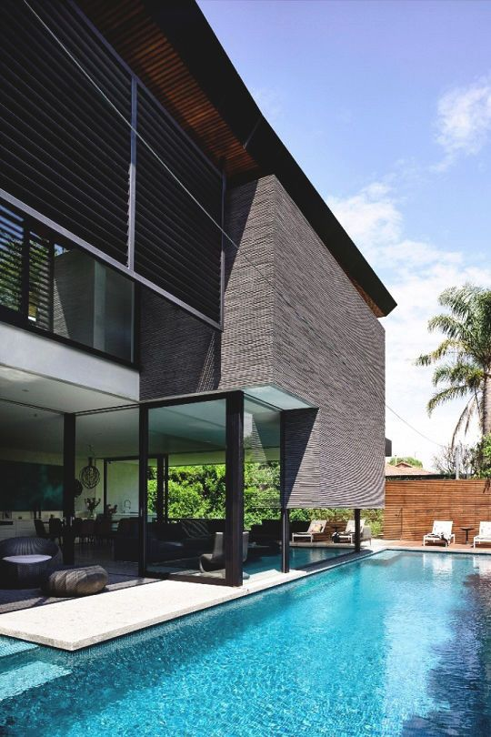 #LUXURYPOOLS | Posh Private Pools | Pinterest | Haus Projekte, Moderne  Architektur Und Moderne Häuser