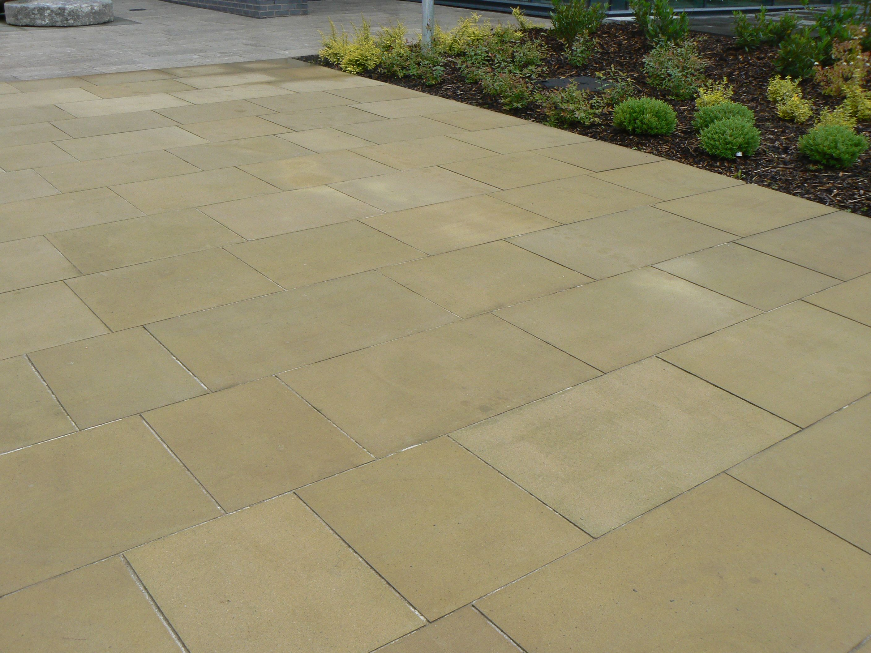 Buff yorkstone paving is ideal for modern and contemporary garden buff yorkstone paving is ideal for modern and contemporary garden patios it is shown here dailygadgetfo Gallery