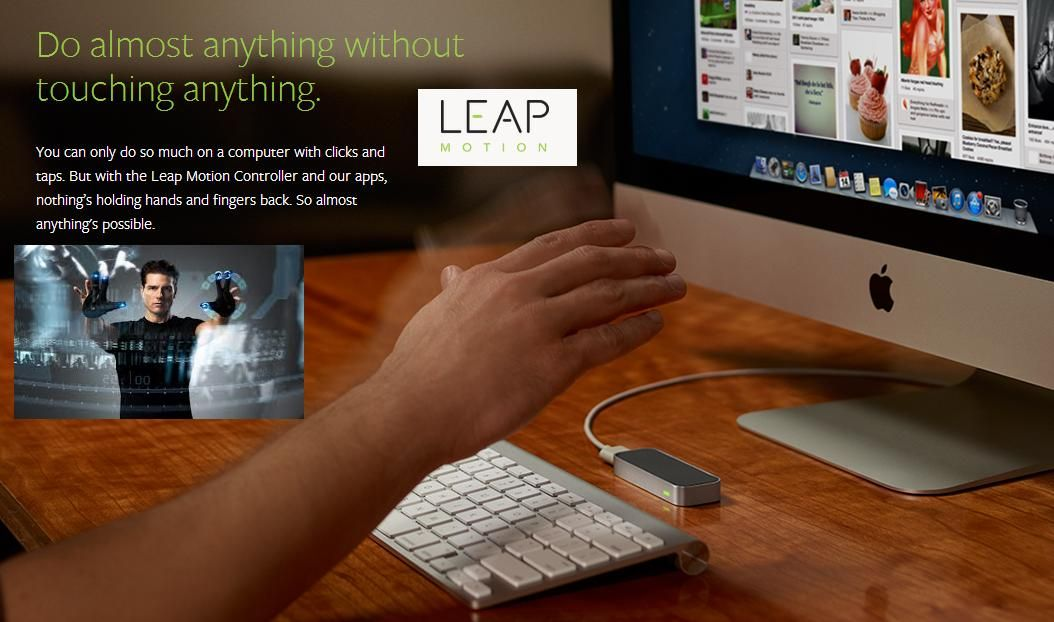 Leap Motion Controller Like Kinect In 3d Motion Control Technology Leap Motion Motion Kinect