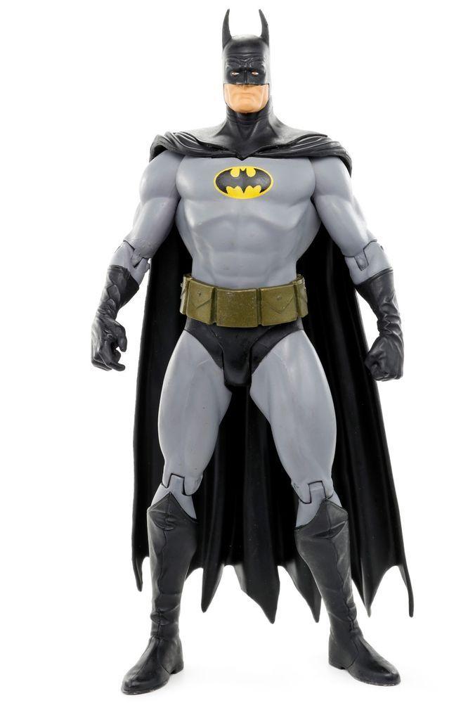 DC DIRECT COLLECTIBLES ALEX ROSS BATMAN FIGURE OF THROUGH THE AGES GIFT SET