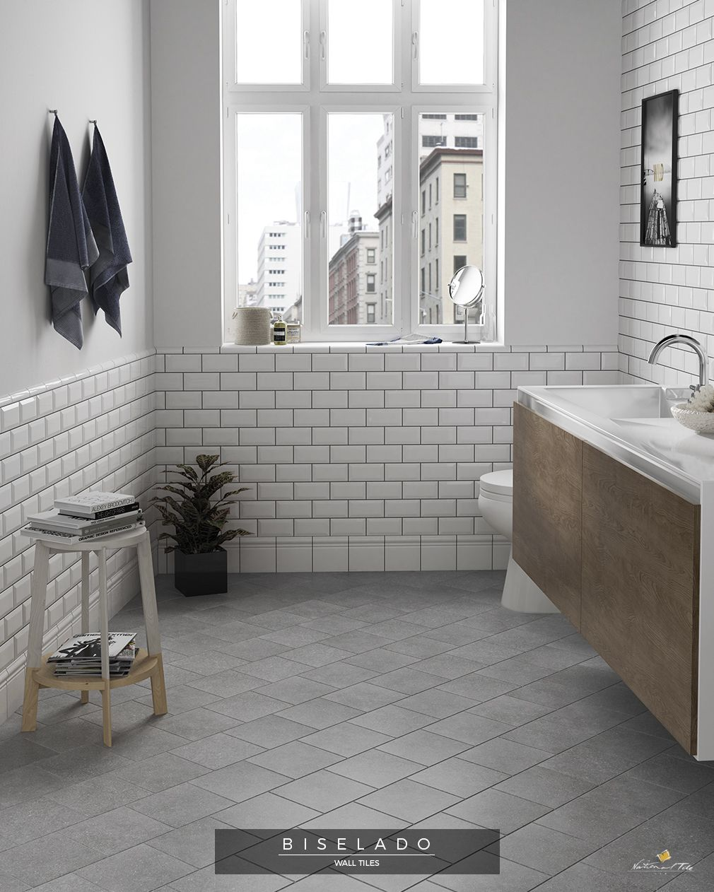Metro Subway Underground Bevelled Bathroom Wall Tiles Small Bathroom Design Minimalist Style In Bathrooms Remodel White Bathroom Tiles Small Bathroom