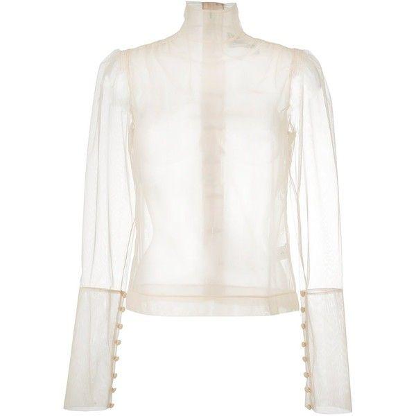 04ebd38168851 Simone Rocha sheer blouse ( 1