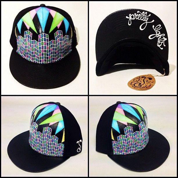 e3ba0219e Custom Painted Grassroots California Hat by MAMA ANA | headyware ...