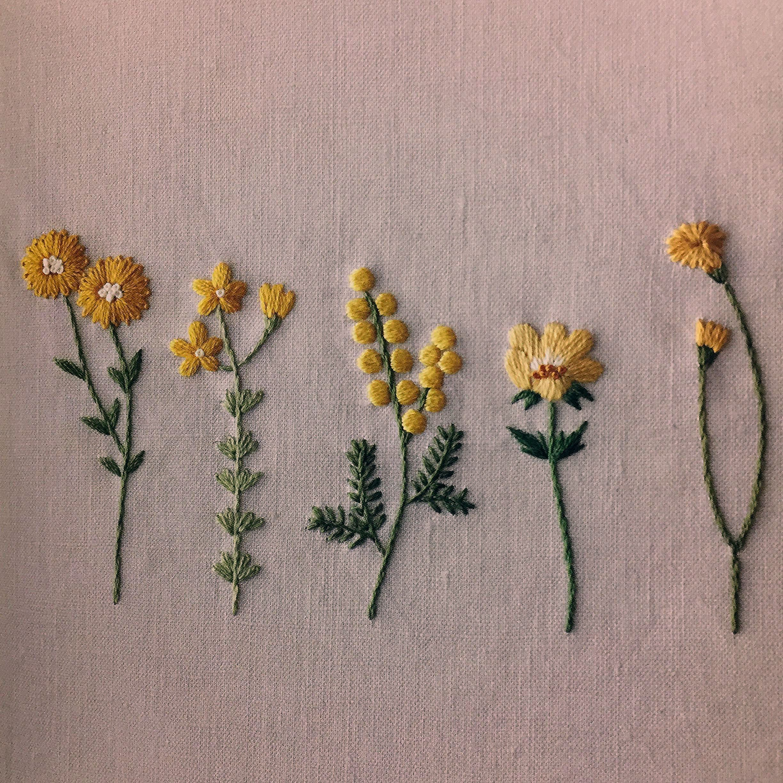 Botanical embroidery by Asaga naoko - Korean edition   Ricette Pesce ?