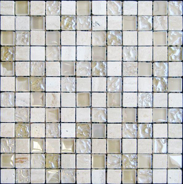 Cream Marble Bubble Gloss Mosaic Beige 305x305x8mm Tiles For Sale Tiles Uk Mosaic