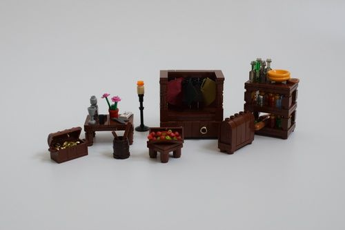 MELO Round 1: In the Dreams of the Hobbit: A LEGO® creation by Mark ...