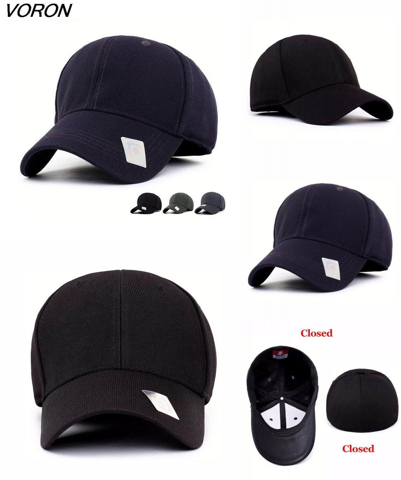 Visit to Buy  2016 Spandex Flexfit Fitted Baseball Cap bone Casual Full  Closed Sport 9f8e780e09c