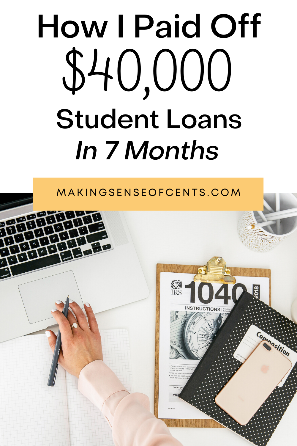 How I Paid Off $40,000 In Student Loans in 7 Months in ...