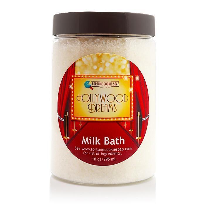 HOLLYWOOD DREAMS Milk Bath #fallmilkbath