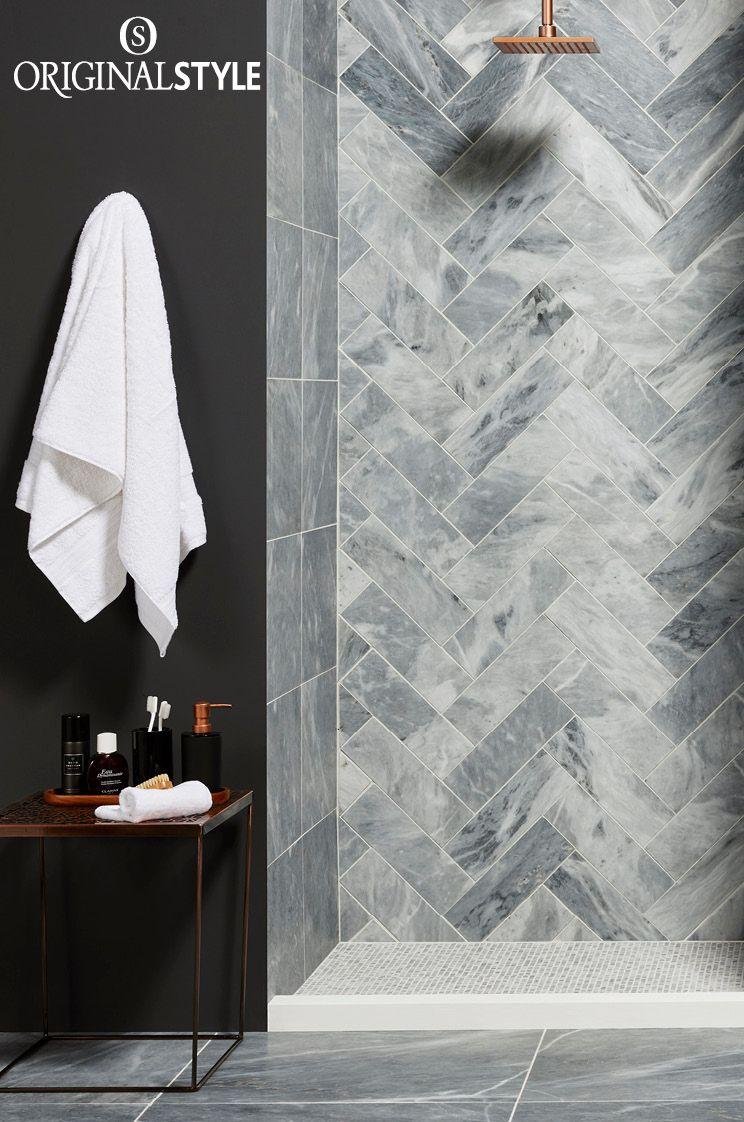 R Marble Letter Poster 5 Sizes: Grey Marble Tile, Tiles