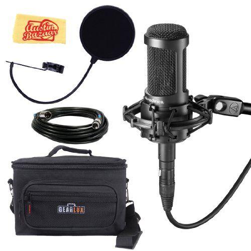 Audio Technica At2035 Mic Audio Technica Microphone Gear Bag