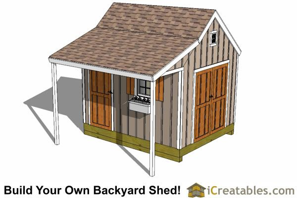 10x12 Shed Plans With Porch Cape Cod Shed New England Style Shed 10x12 Shed Plans Shed Plans Shed