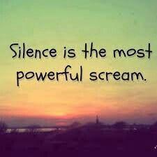 The quiet ones always have one
