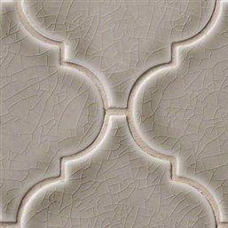 Dove Gray Arabesque 8mm Mosaics Oakland Kitchen In 2019 Gray Tile Backsplash