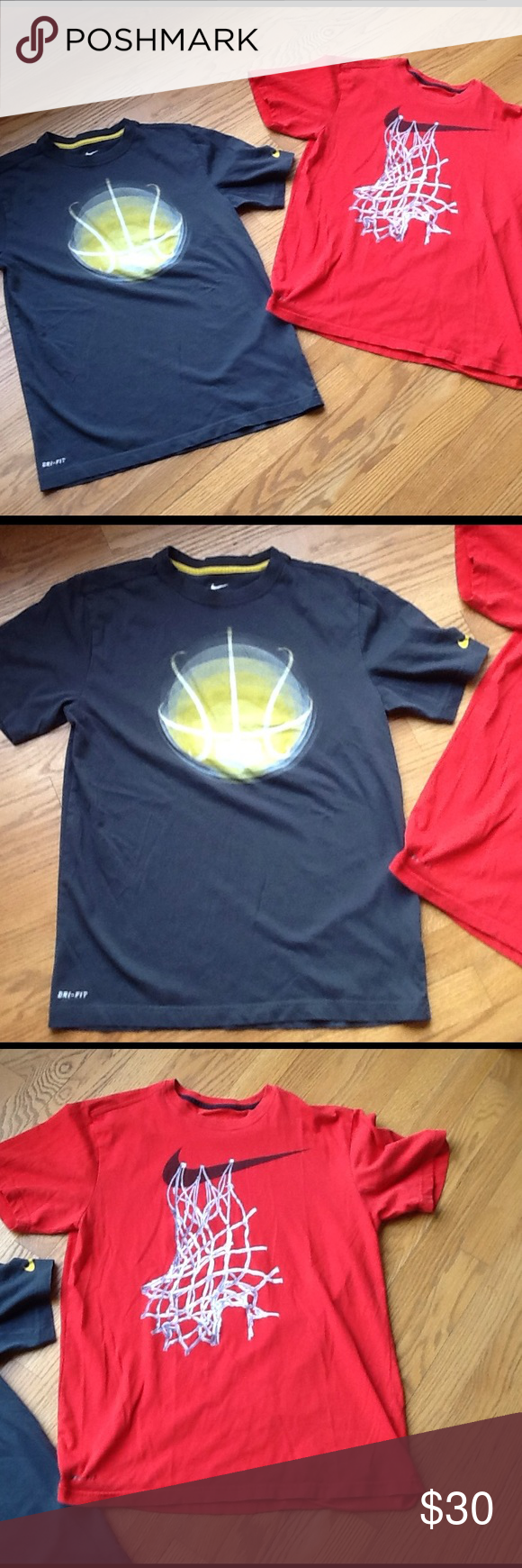 NIKE T-SHIRT BUNDLE In good Preloved condition. Nike Shirts Tees - Short Sleeve
