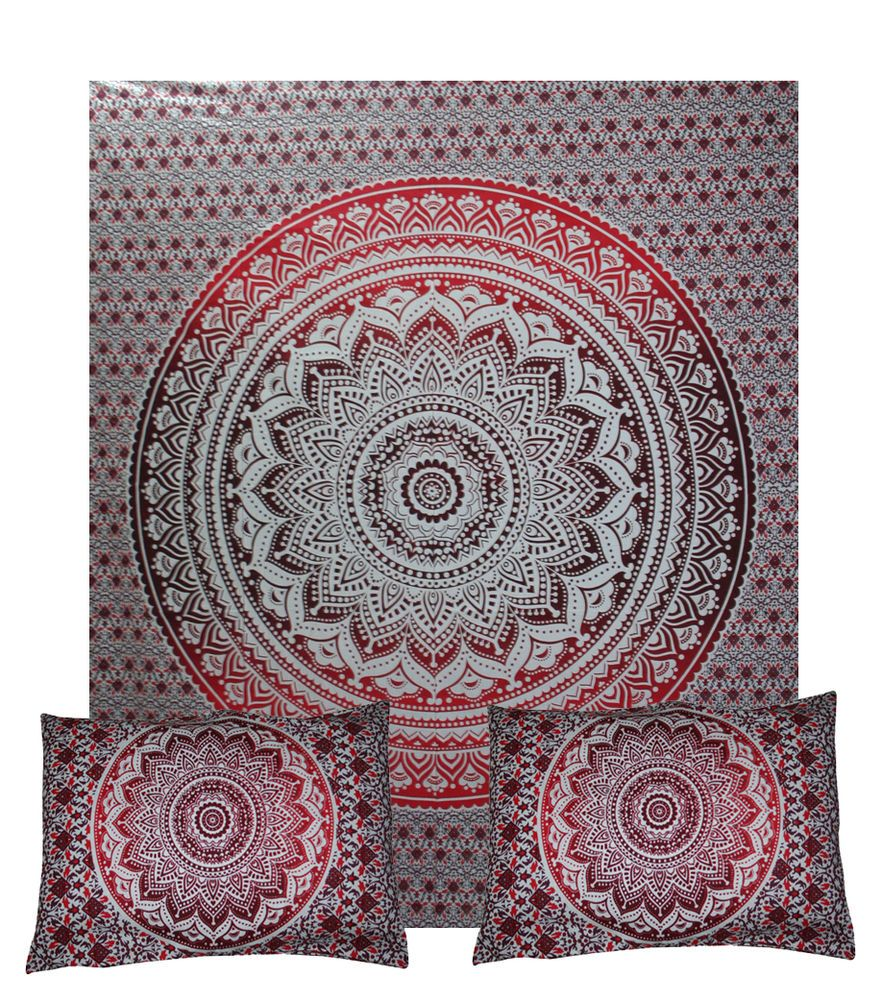 Free Shipping Mandala Boho Duvet Cover Queen Quilt Cover Cotton Throw  DoonaCover #Unbranded #DuvetCover